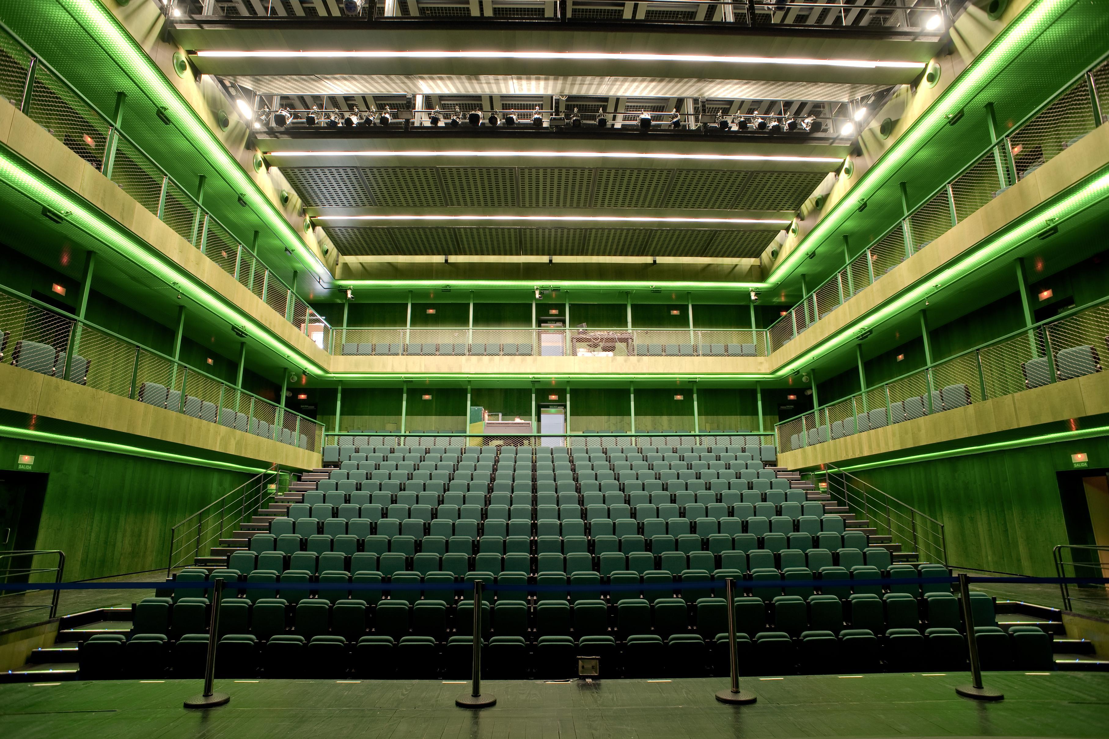 Sala verde de teatros del canal talent madrid Teatros del canal entradas